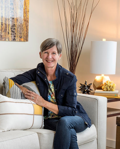 Portrait of Santa Fe, NM home stager and interior designer Debbie DeMarais