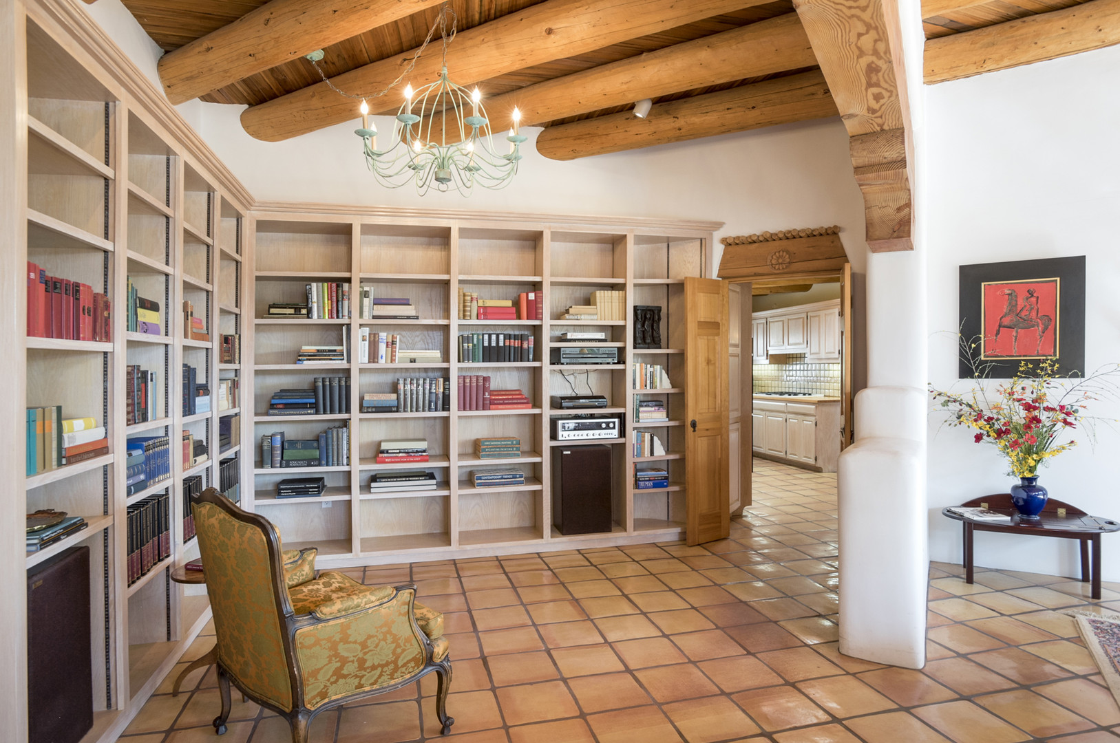 Monte Alto | Library After Staging