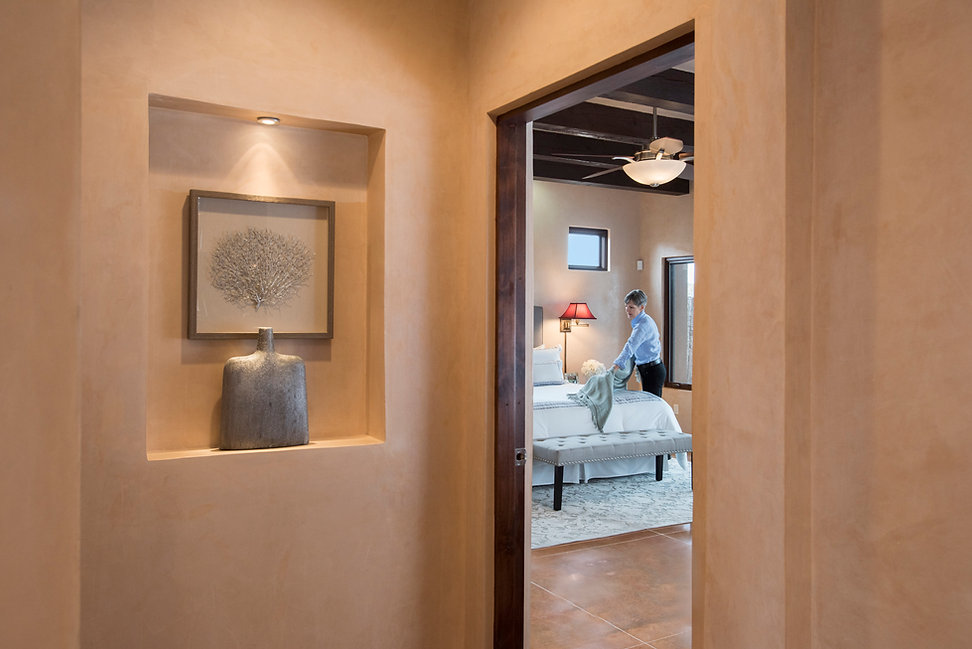 Preparing contemporary Santa Fe home for open house