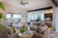 Home staging for award winning Homewise design in Santa Fe's Haciendas Parade of Homes.