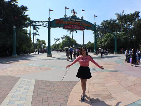 My Birthday in Disneyland