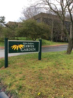 Taylor Avenue Garden Entrance Sign The B