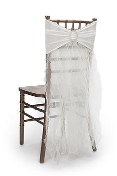 Oriana chair cover skirt