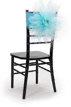Mari chair cover flower