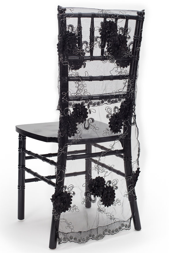 Dahlia chair cover dress
