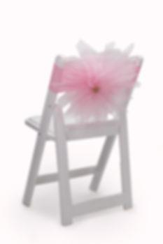 Mari chair cover flower