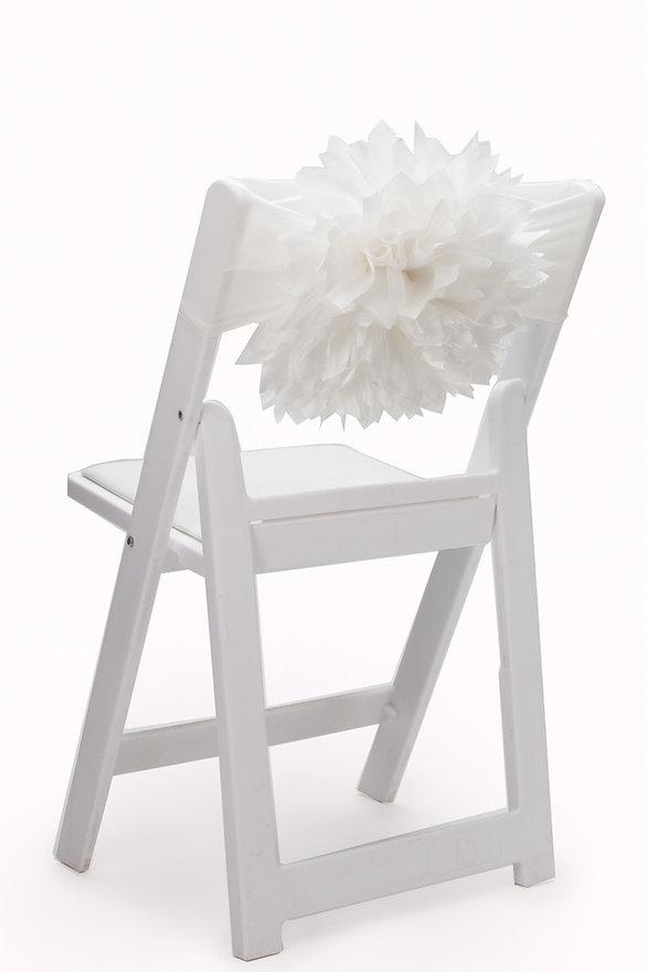 Asta chair cover flower