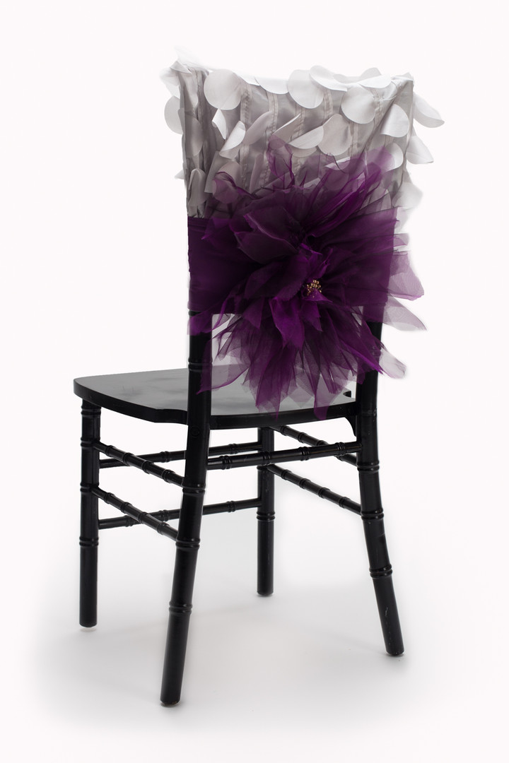 Sophia and Mari chair cover