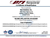 12479 Star Aviation Inc. (integrated AS9