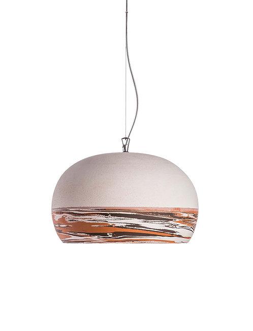 Terra, terracotta lamp