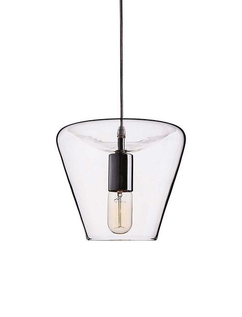 Lucy, vintage style glass lamp