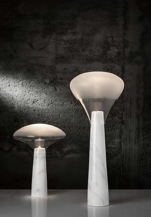 Bella, marble table lamp