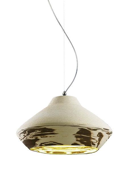 Matera, terracotta lamp