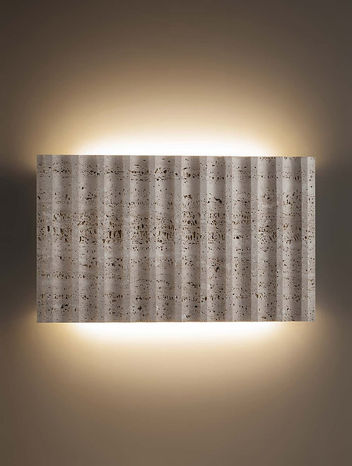 Roma, marble wall lamp