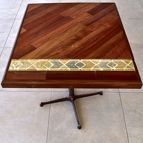 wood&tile table