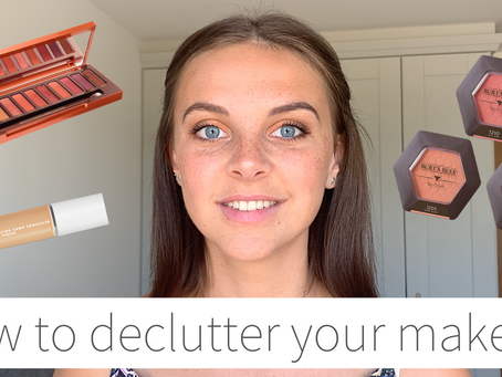 How to Declutter Your Makeup