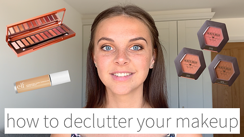 YouTube thumbnail - how to declutter you