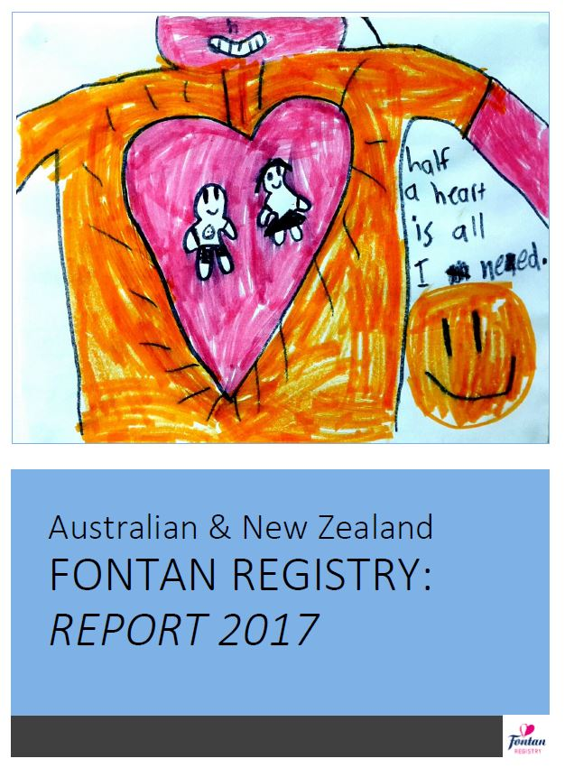 NEW! Fontan Registry Annual Report