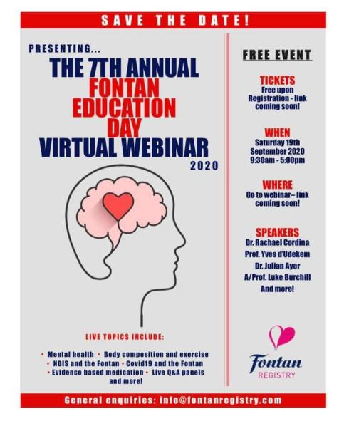 2020 Fontan Ed Day - Webinar presentations now available