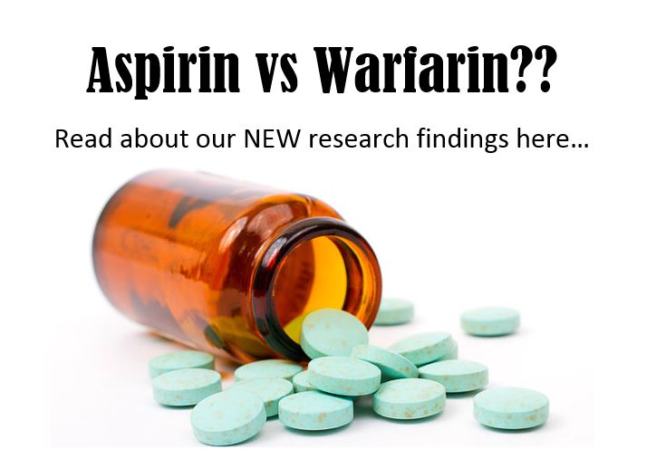 Aspirin vs Warfarin??