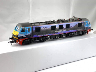 Malcolm Rail - Class 90