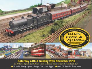 Warley NationalModel Railway Exhibition 2018
