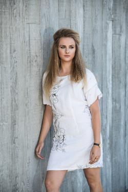 eco fashion -tablecloth dress
