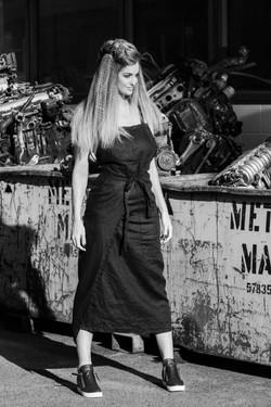 apron dress by Laraman