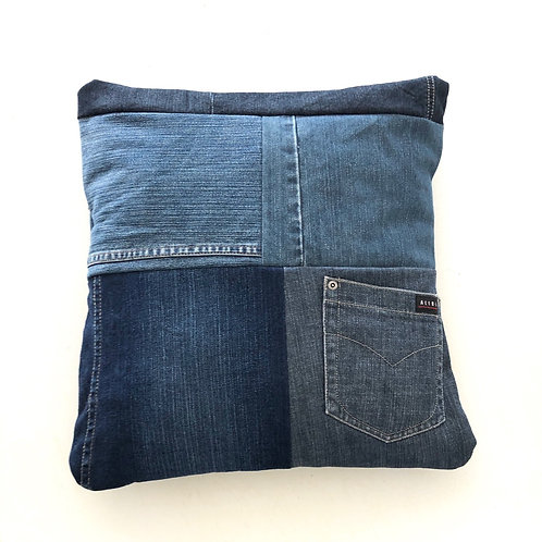 Up-cycled Denim cushion covers KIT