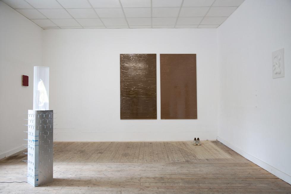 Group exhibition view.Automat Artspace, Saarbrücken, 2020