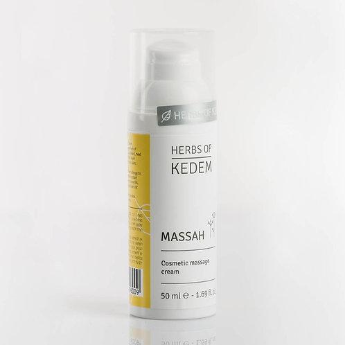 Massah | Массах - косметический массажный крем (50 мл) - KEDEM | Кедем