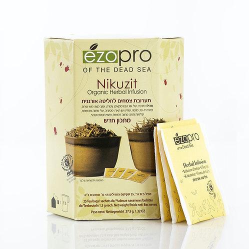 Nikuzit | Никузит - очищающий cбор трав (25 пакетиков) - Herbs of KEDEM | Кедем