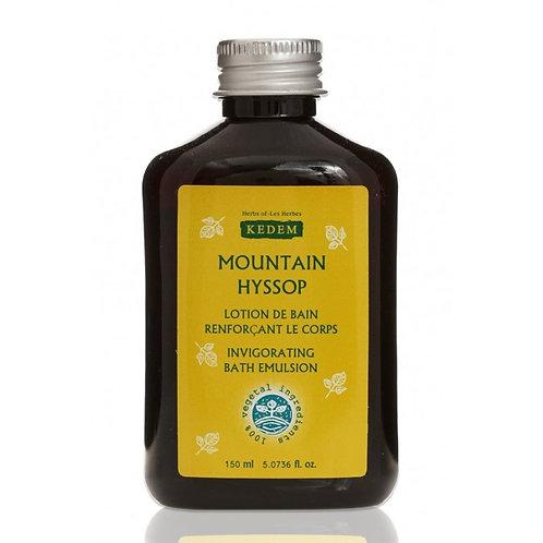 Mountain Hyssop | Моунтайн Гиссоп тонизирующий лосьон (150 мл) - KEDEM | Кедем