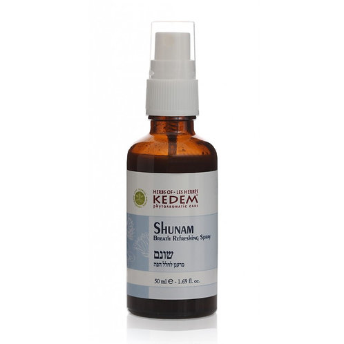 Shunam | Шунам - антиаллергенный спрей (50 мл) - Herbs of KEDEM | Кедем