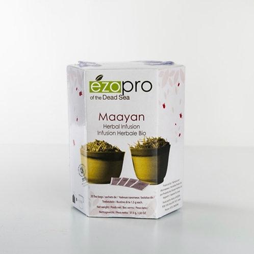 Maayan tea | Мааян - органический травяной сбор (25 пакетиков) - KEDEM | Кедем