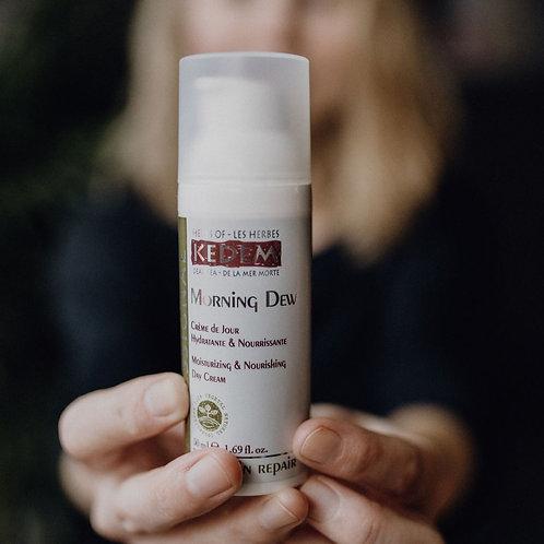 Morning Dew | Утренняя Роса - увлажняющий крем для лица (50 мл) - KEDEM | Кедем