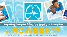 Respiratory Care Week October 22nd - October 28th, 2017