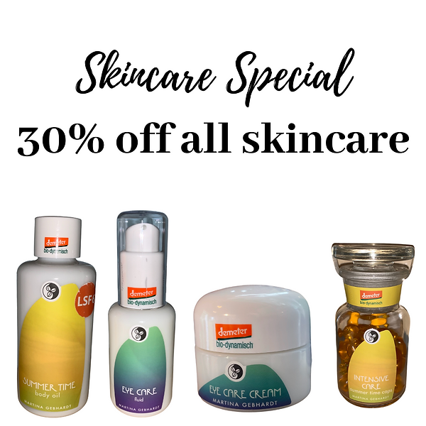 Skincare Special 30% off all skincare (1