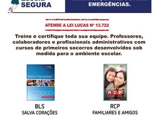 IPATRE capacita Staff do Colégio ARBOS - Atendendo a Lei nº 13.722 (Lei Lucas)