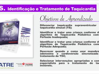 PALS. Identificação e Tratamento de Taquicardia.