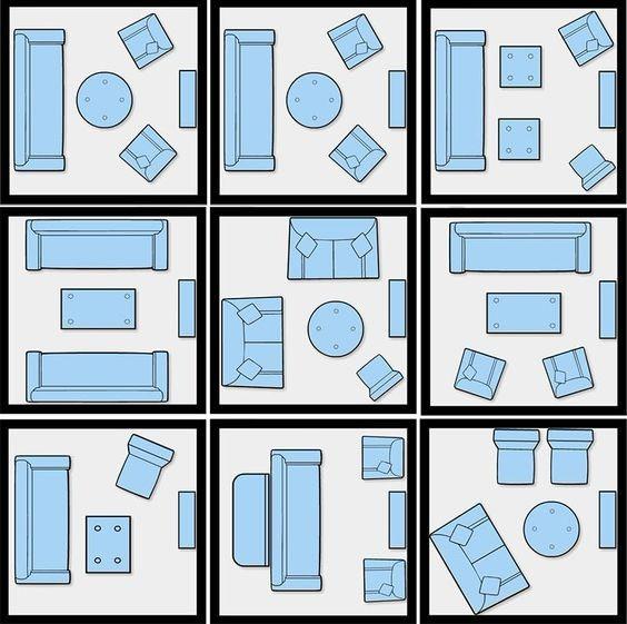 Como arrumar os móveis em uma sala pequena