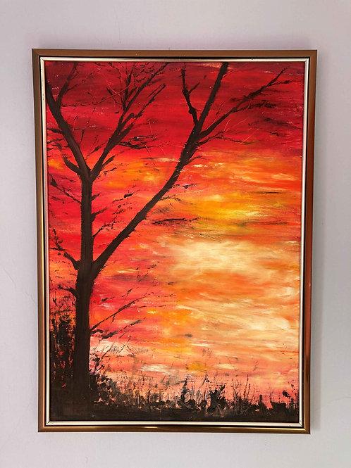 Sunset Tree 1 by Laurel Moore