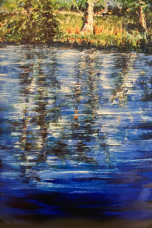 Summer Reflections 1, Limited Edition Print by Laurel Moore