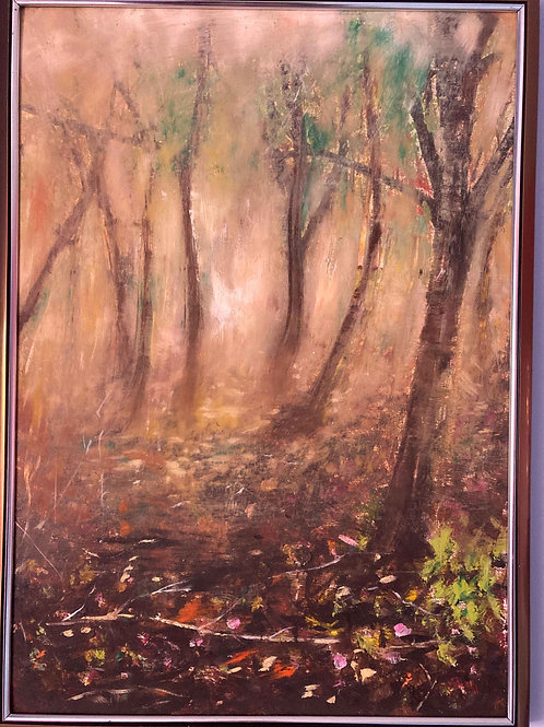 Autumn Forest Mist 1 by Laurel Moore