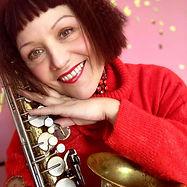 Saxophonist Laurel Moore