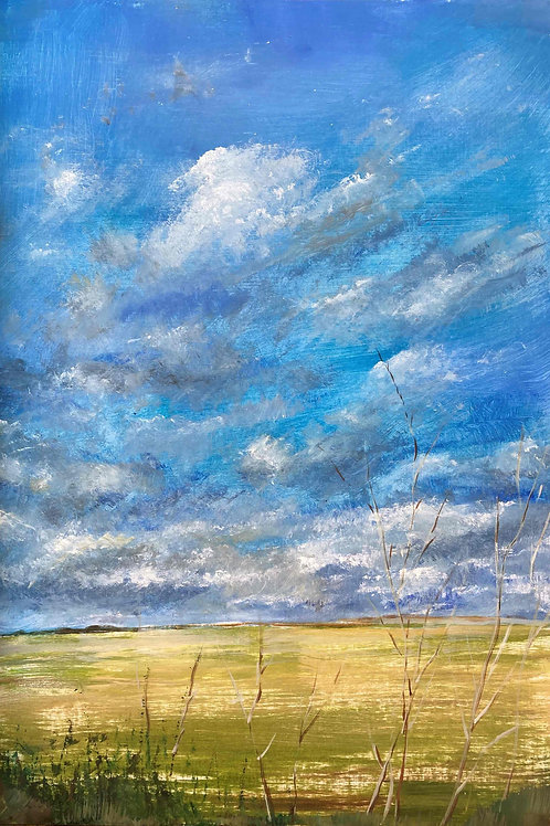 Summer Clouds 1, Limited Edition Print by Laurel Moore