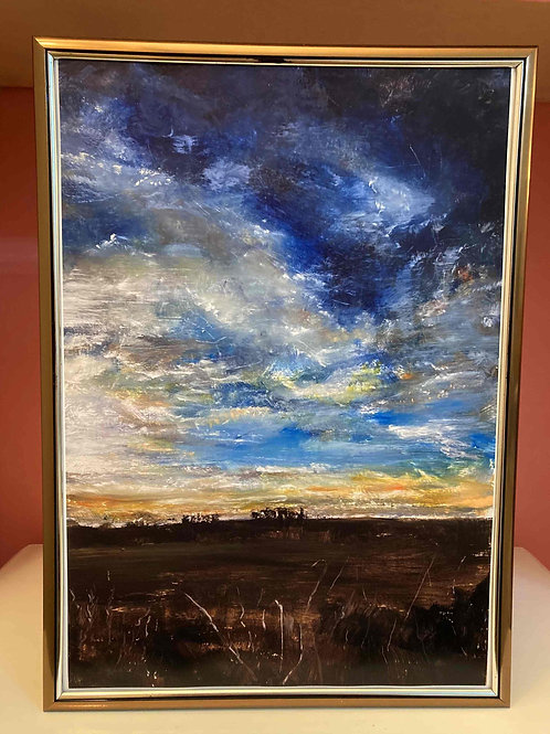 The Dusk Sky 1, Limited Edition Print by Laurel Moore