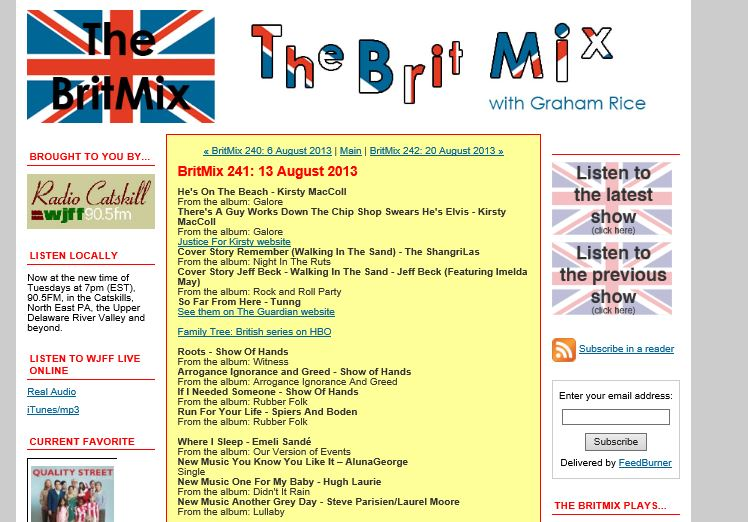 The Brit Mix Radio