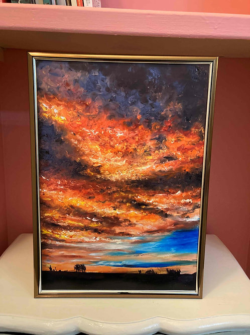 Fire In The Sky 1, Limited Edition Print by Laurel Moore