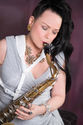 Laurel Moore Resident Saxophonist The Intercontinental Hotel Qatar2016